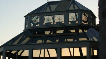 : Livingston NJ Conservatory Lantern Dusk View