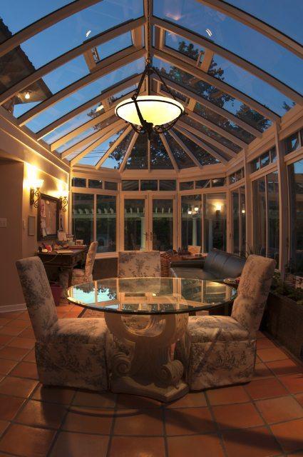 pool conservatory , poolside conservatory, cabana conservatory, conservatory view, nighttime conservatory, romantic conservatory, conservatory vista,