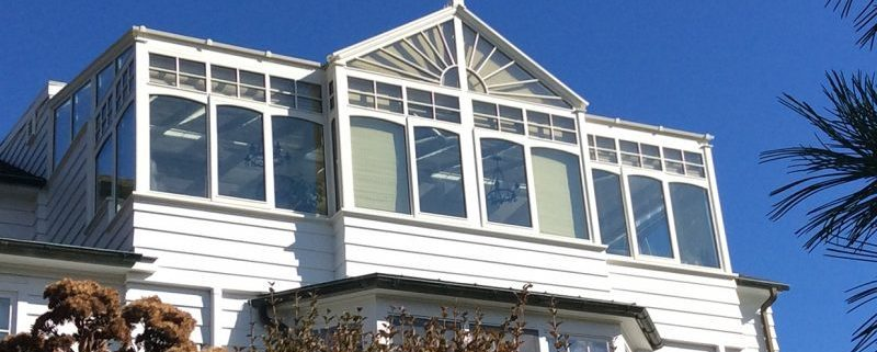 rooftop conservatory