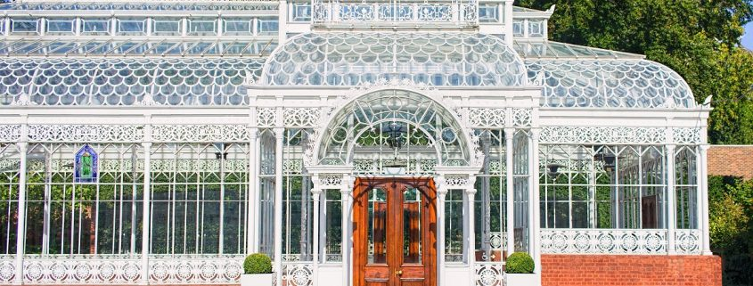 Victorian conservatory greenhouse